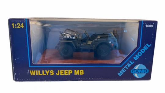 Willys Jeep US-Army 1:24