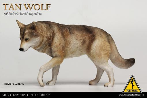 Wolf (Brown) 1/6
