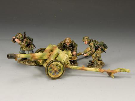WWII German Forces: Pak 97/38 mit 3 Figuren