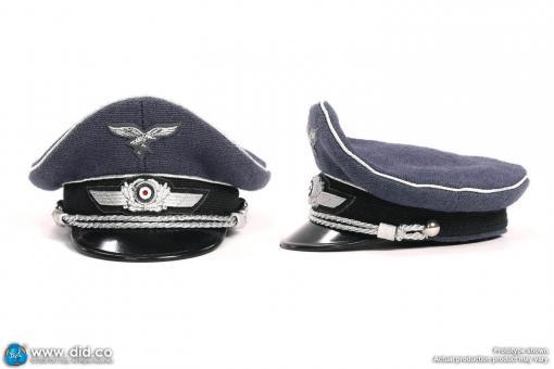 Flieger Mütze  für Offiziere, Stoff