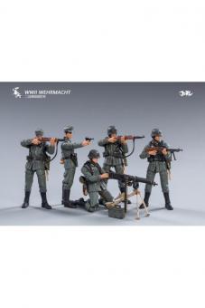 1:18 German Wehrmacht MGZUG (5 Figuren)
