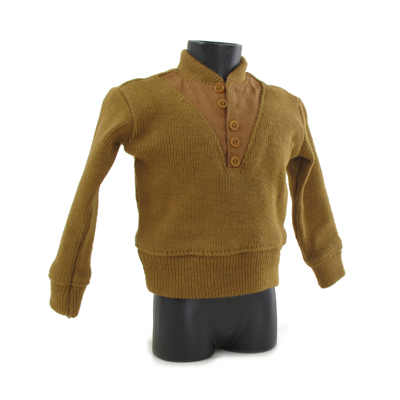 US Army Issue Sweater (Brown) 1/6