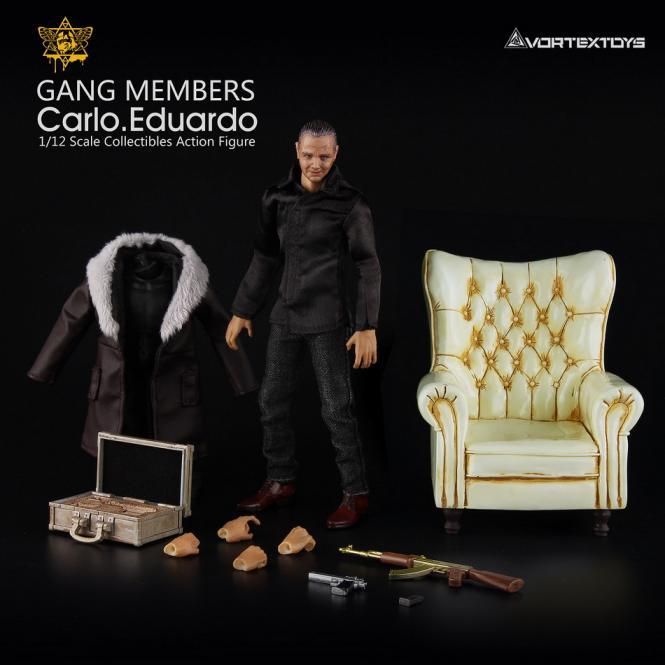 ID:Carlo - Eduardo 1/12 Fully articulated BEIGE Sofa