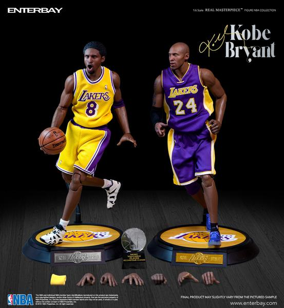 Kobe Bryant 1/6 scale figurine Duo Pack