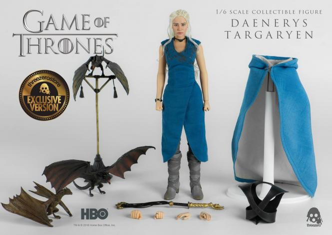 GAME OF THRONES  -Daenerys Targaryen 1/6 EXCLUSIVE