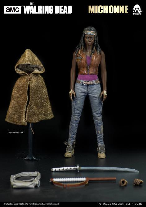 1/6th scale Michonne - The Walking Dead