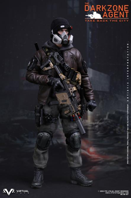 1/6 Scale The Darkzone Agent