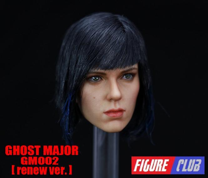 1/6th Figure Club: Ghost Major Head 2.0