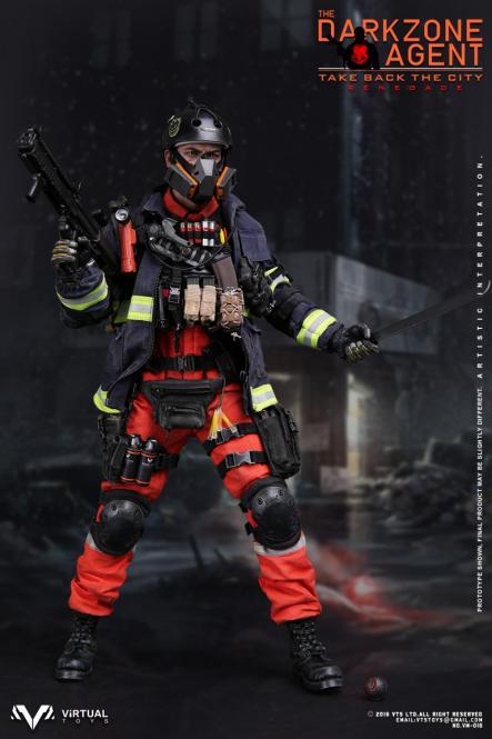 1/6 Scale The Darkzone Agent Renegade