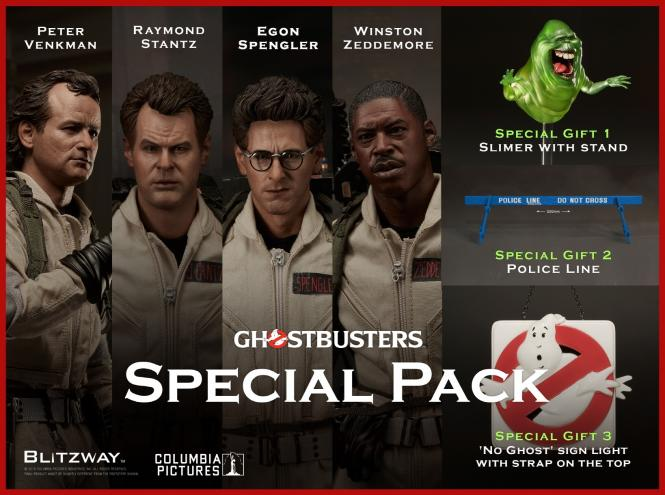 Ghostbusters, 1984  1/6 Special Pack