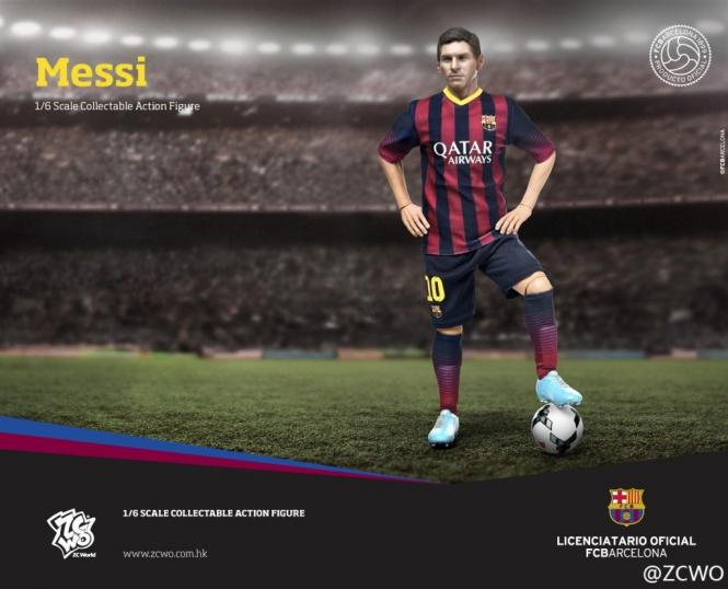 ZC World FCBarcelona 2014/15 - Messi Soccer Player
