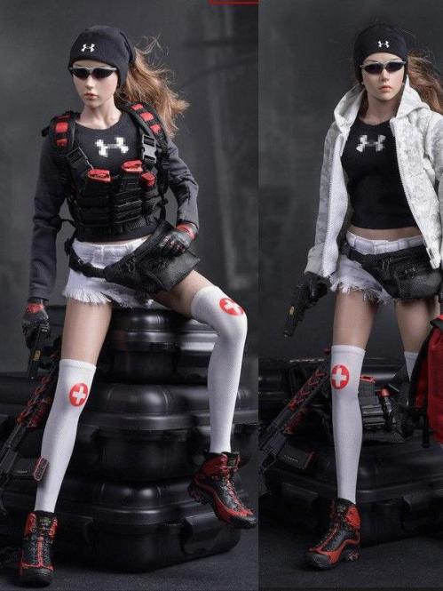 1/6 Female Urban Rescue Team outfit