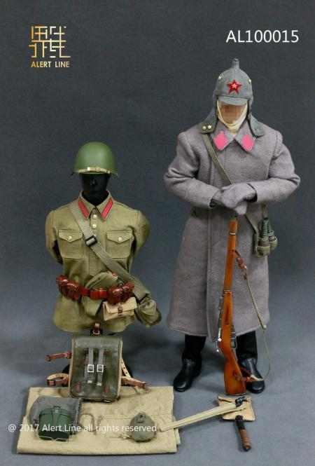1/6 WWII Soviet Red Army Infantry Equipment Set
