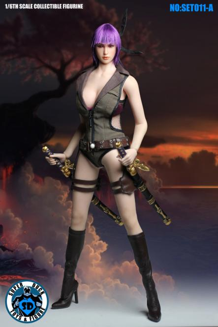 1/6 fighting girl Shooter outfit