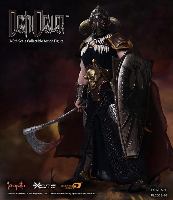 TBLeague  1/6 Hell on Earth (Death Dealer 2nd. Version) - A  Action Figure