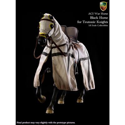 Teutonic Knights - War Horse (Black)