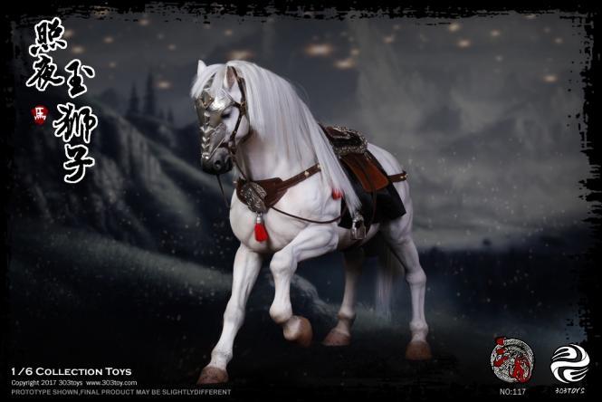 1/6 Three Kingdoms Series - Jade Lion the Steed