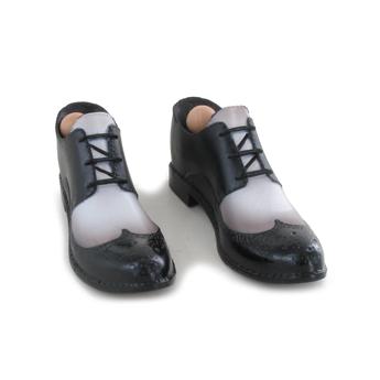 Schuhe schwarz braun 1/6