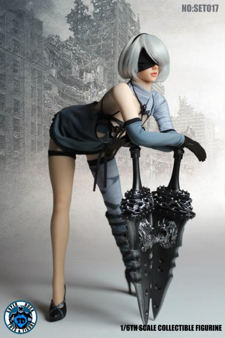 Female Nier Sexy Girl Set (Blue)