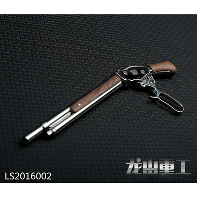 1/6 Die Cast Winchester Shotgun M1887 (Dark Brown)