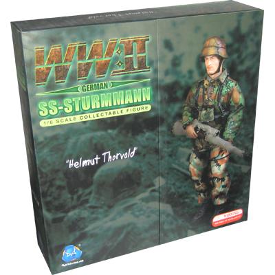 Helmut Thorvald (Sturmann) Sniper 1/6 mit Diorama