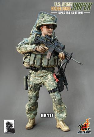 Dragon Models De Hot Toys Us Army Special Force Sniper