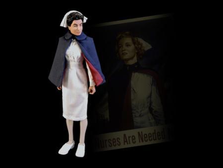 Valor, WWII Nurse, Krankenschwester US
