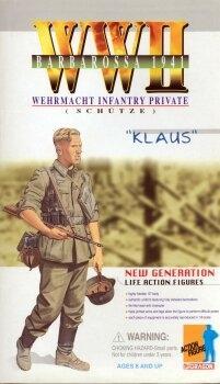 Klaus König Barbarossa 1941 - Wehrmacht Infanterie - Schütze