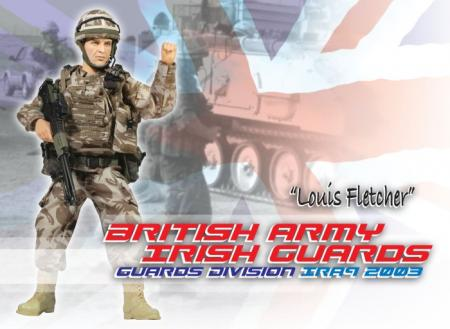 Louis Fletcher,British Army - Irish Guards - Guards Division - Irak 2003