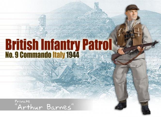Arthur Barnes 1/6 No. 9 Commando