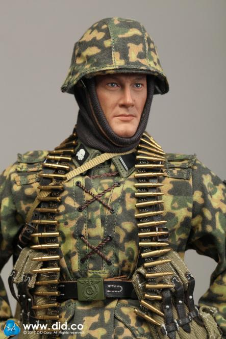 Baldric - 3rd. SS-Panzer-Division MG34 Gunner - Figure in 1:6 scale