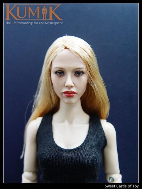 Kumik Female Head Sculpt No. KM045
