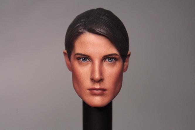 Female Agent Headsculpt Maria