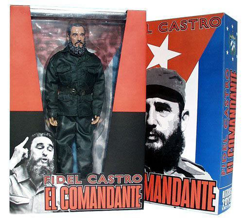 El Comandante - Fidel Castro 1/6 Figur