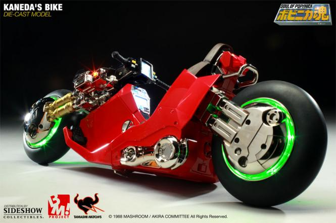 Kaneda's Bike Die-cast Model 1/6