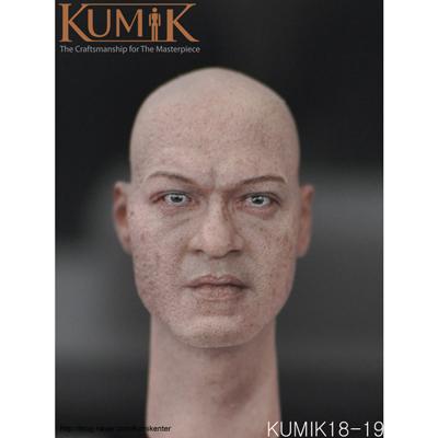Kumik Male Head KM18-19
