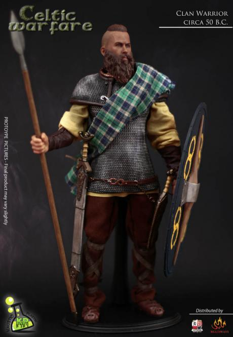 1/6 Celtic Warfare - Warrior