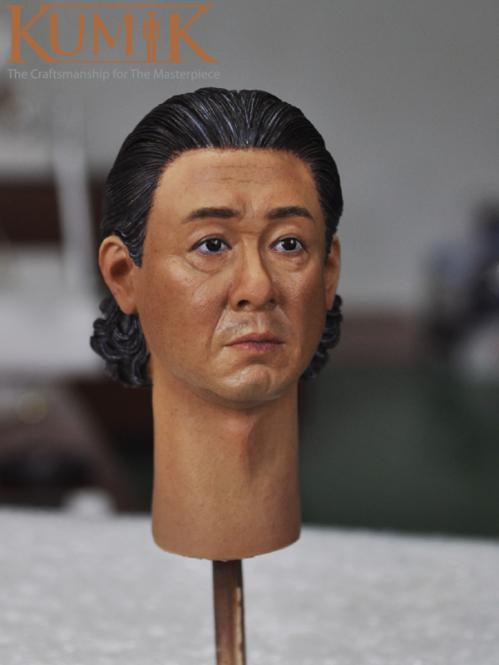 Kumik Male Head Asian Middleage