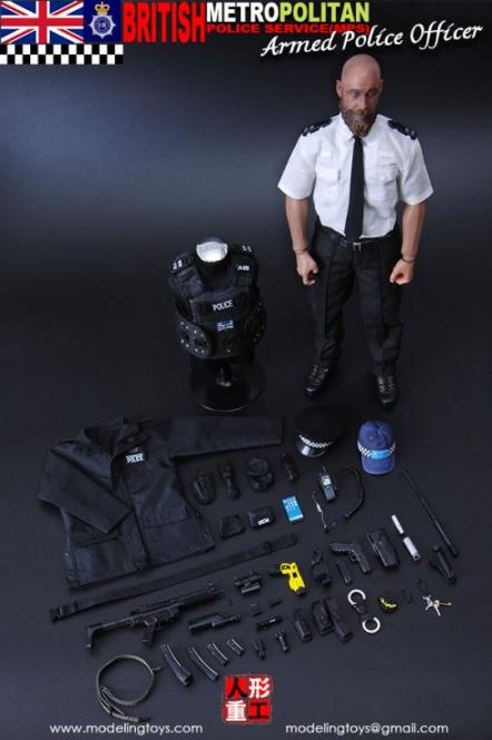 British Metropolitan Police Service - Armed Officer 1/6