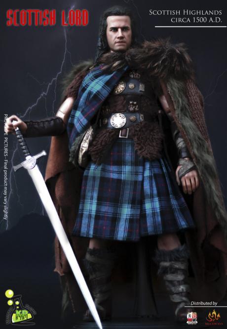 1/6Scottish Lord - Scottish Highlands - circa 1500 A.D.