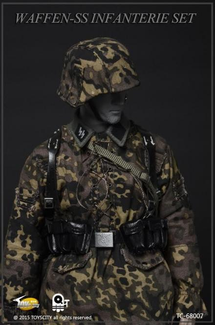 Wiking Division K98 Equipment Set Herbst 1/6