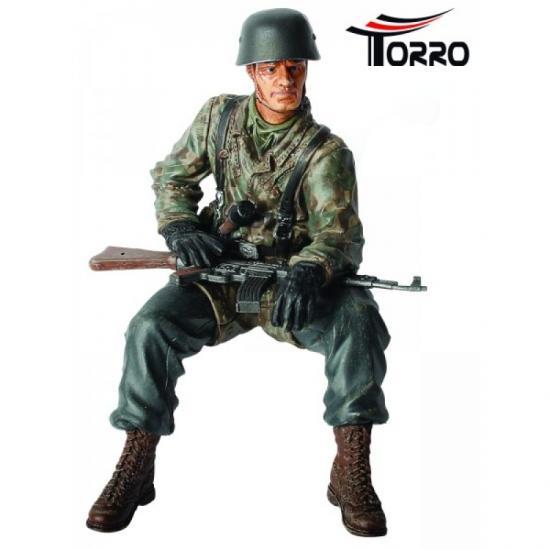 "1/16 Figur Obergefreiter Helmut Rossel"""