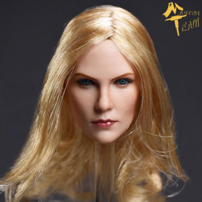 1/6 Charlotte Female Head Ultra Realistic
