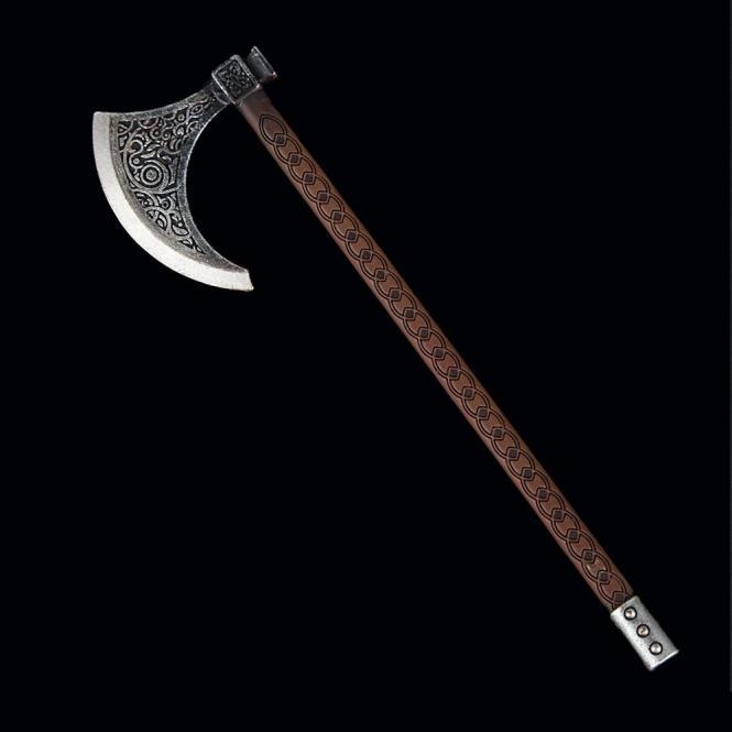 Metal Viking Einhandaxt in Metal 1/6