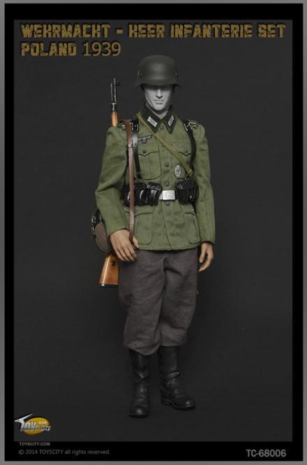 WWII Wehrmacht Infanterie Sets ,Poland 1939 1/6