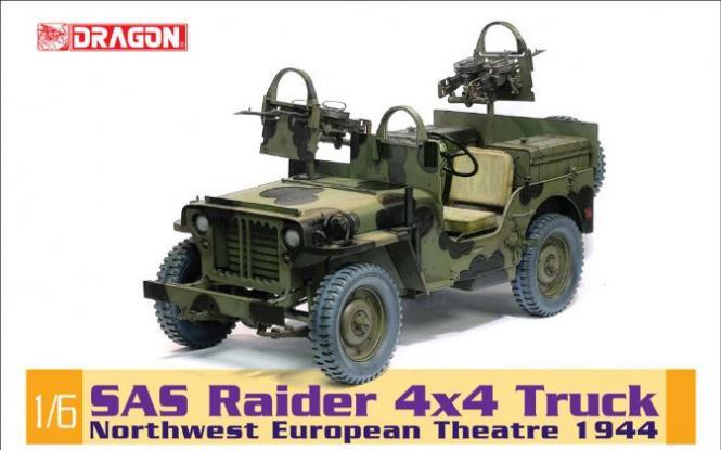 dragon sas raider willys jeep 4x4 bausatz. Black Bedroom Furniture Sets. Home Design Ideas