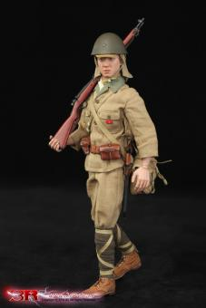 DID Dragon In Dreams 1//6th Scale WW2 Japanese Infantry Cap Takuya