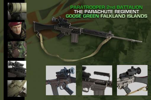 Graham 2st Battalion Parachute Regiment - Goose Green