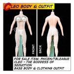 Cleo Body Suit Set im Maßstab 1:6