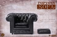 British Chesterfield Sessel - im Maßstab 1:6